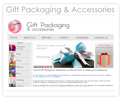 Gift Packaging & Accessories